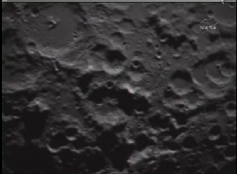 Image in sequence prior to impact