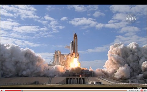 Shuttle Launch in Glorious 1080p HD
