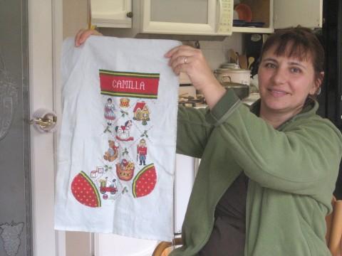 Camilla's Stocking from Grandma Gene